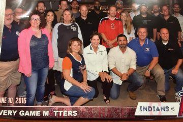 Elite Real Estate Network Member Group Photo at Baseball Game
