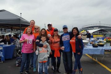 Elite Real Estate Network Members Tailgating at Denver Broncos Game with Carolyn Andrews