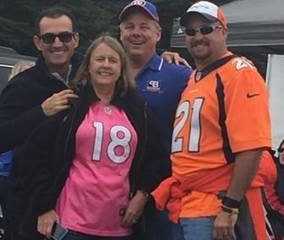Elite Real Estate Network Photos - ERN with Xome at Denver Broncos Game