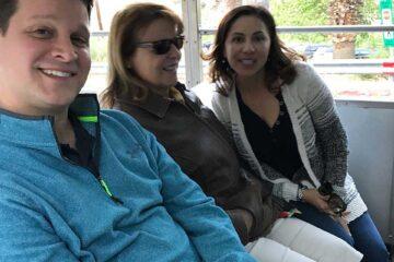 Elite Real Estate Network Members on Bus